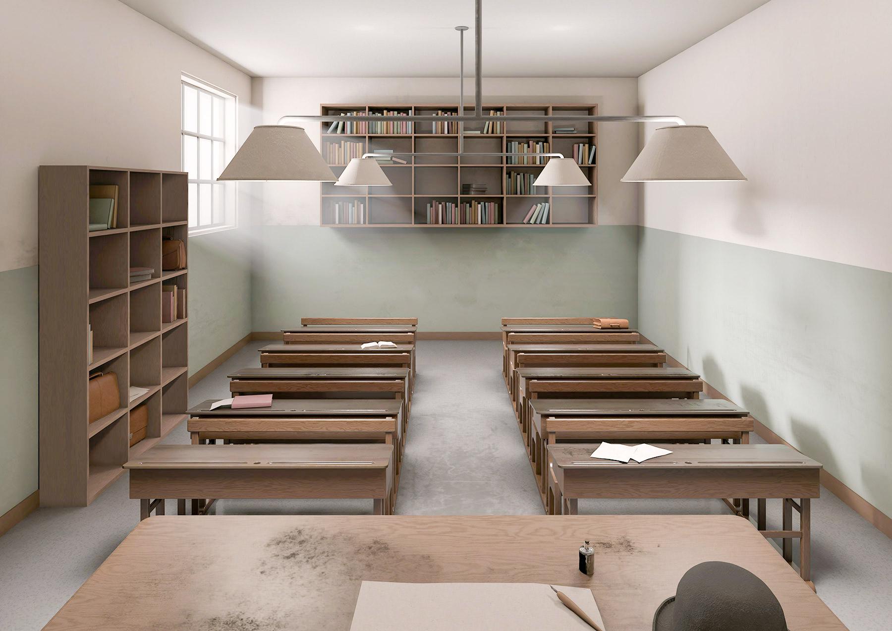 Raumbilder III Schulraum