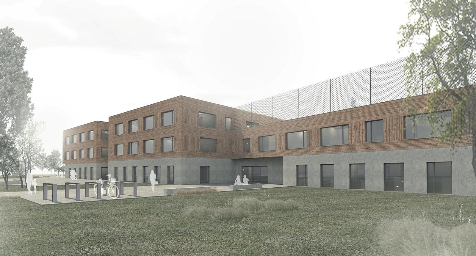 Interspace –Neubau eines Schul- und Beratungszentrums